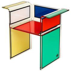 Rubicube Armchair by Jean-Charles de Castelbajac   1stdibs.com