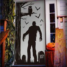 Halloween Door Decorations - Do not Enter | Hallow | Pinterest | Halloween door decorations Holidays halloween and Halloween ideas & Halloween Door Decorations - Do not Enter | Hallow | Pinterest ...