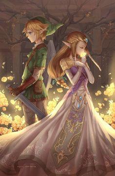 Link and Zelda: