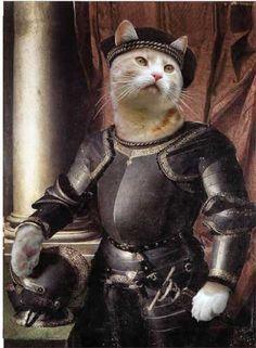 Valerie Leonard Classic Pet cats Portraits 2