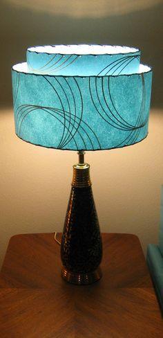 century vintage lamps Mid
