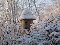 *Snowy Birdhouse
