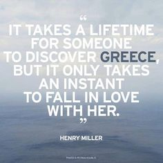 It takes a lifetime for someone to discover #Greece, but it only takes an instant to fall in #love with her.  #oscarsuites #oscarvillage #crete #summer #chania