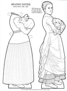 Great Women (Coloring Book Paper Dolls)