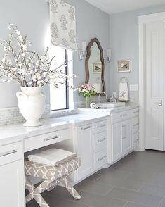 My dream bathroom belongs to Bree.  @zdesignathome