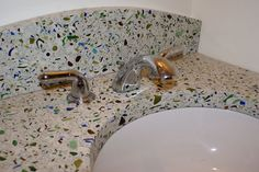 Artisan, fabricator and installer of custom concrete counter-tops in Ottawa and the Valley Vanities, Sinks, Vanity Sink, Fireplace Surrounds, Concrete Countertops, Gallery, Design, Home Decor, Dressing Tables