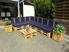 Houten Paletten Bank : Pallet bank schuine rugleuning amazing tuinbank van pallets with