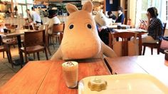 Tokyo's Moomin House Café sits solitary diners with a furry friend.