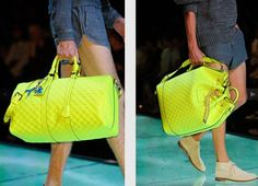 Louis Vuitton Men's S/S 13 Bag Collection – Neon Take-Over