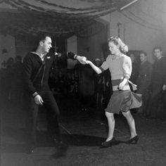 Iceland December 1953 photo by Ralph Morse (nothing like a good dance partner!)