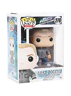 "<p>Brian O'Conner is given a fun, and funky, stylized look as an adorable collectible figure!</p><ul>	<li>3 3/4"" tall</li>	<li>Vinyl</li>	<li>Imported</li>	<li>By Funko</li></ul>"