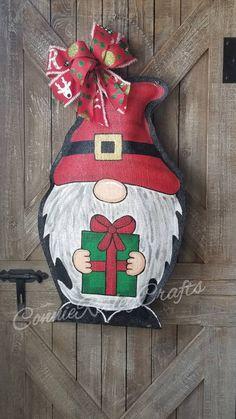 On Burlap Jingle Bells Door Hanger JOY Holiday Door Decorations Or Christmas Wall Hanging Large 18 x 11 Size