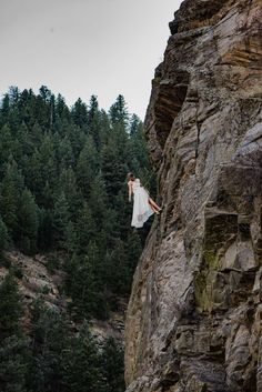 Rock Climbing Elopement at Capitalist Craig | Rocky Mountain Bride Bridal Alterations, Epic Photos, Elopement Inspiration, Elope Wedding, Rock Climbing, Mountain View, Rocky Mountains, Mount Rushmore, Colorado