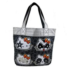 Hello Kitty KISS tote purse bag handbag $52.00