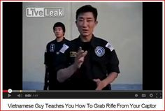 Video > Guy Teaches You How To Grab Rifle From Your Captor