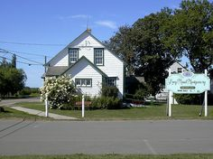 Though Anne Shirley was born in Nova Scotia, her birthplace is based on L. M. Montgomery's birthplace in Clifton (now New London), Prince Edward Island. L. M. Montgomery's Birthplace is located on the main intersection of New London. It is now a museum which houses period furnishings, a replica of L. M. Montgomery's wedding dress, and selected exhibits of her scrapbooks filled with her short stories and personal memorabilia. Anne Of The Island, Great Aunt, Anne Shirley, New London, Prince Edward Island, Anne Of Green Gables, Nova Scotia, Scrapbooks, Short Stories