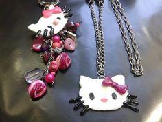 Anillo de acrilico Hello Kitty, con lentes y sin ellos - YouTube