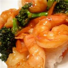 Easy Szechwan Shrimp