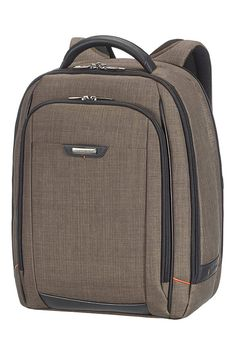 "Samsonite PRO-DLX 4 SP Laptop Rucksack L 16"" Warm Grey"