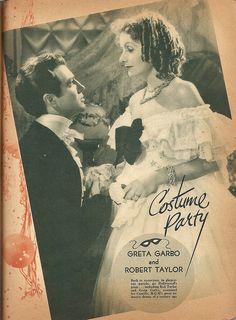 Robert Taylor & Greta Garbo, Camille (1936) by Amy Jeanne, via Flickr