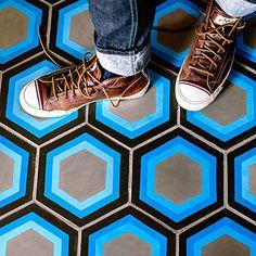 Image result for funky floor tiles