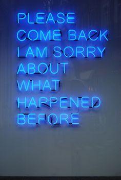 #neon #light #quotes