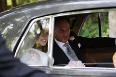 Spice Girl Geri Halliwell and her new husband Formula 1 boss Christian Horner