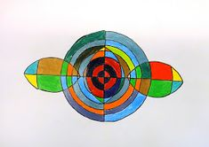 For the Love of Art: Grade: Frank Stella Protractor Series Pythagorean Spiral, Frank Stella, Protractor, Arts Integration, Math Art, Art Lessons, Art Projects, Diagram, Abstract