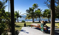 Located just 15-minutes by helicopter or seaplane from Nadi International Airport, Vomo Island Resort is a picturesque and magical island #VacMag