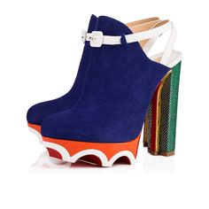 7eedb0be165a Christian Louboutin United States Official Online Boutique - Forgeron 140  Version Atlantic Suede available online. Discover more Women Shoes by  Christian ...