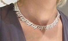 Beth Gilmour's pretty, pretty, pretty silver Garland necklace £525.