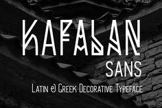 Kafalan Sans by Kostas Bartsokas on @creativemarket