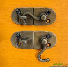 Lot of 2 pcs Door LATCH Key Hook Antique Vintage by ArtsofBrass, $18.00