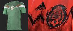 Conozca las camisetas del Mundial Brasil 2014     --MÉXICO
