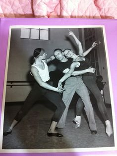 George Balanchine working with the Sadler's Wells (now Royal) Ballet.