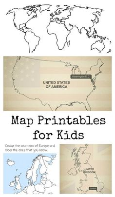 World continents map printout where people live where land is world continents map printout where people live where land is where water is how many big places the earth the kids can color this page ideas gumiabroncs Choice Image