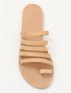 Ancient Greek Sandals Niki-Natural