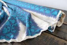 Ikat Printed Silks