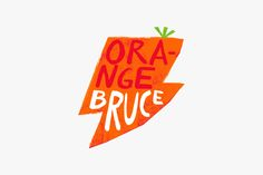 Illustration for Bruce Juice by graphic design studio Marx