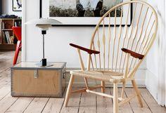 The Peacock Chair ou Chaise Paon PP 550 Wegner, Hans J. : Icones design PP Mobler - Design Ikonik