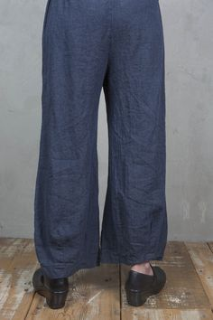 Hemp Denim Balance Pant UnPrinted-Blue Fish Clothing