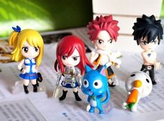 "6 pcs Fairy Tail ""Natsu /Happy /Lucy /Gray /Elza"" action figures Cake Toppers by Shop Directly, http://www.amazon.co.uk/dp/B00H3K0GTA/ref=cm_sw_r_pi_dp_u7cztb1EBPTYK"