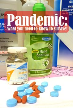 Pandemic: What you need to know to survive!