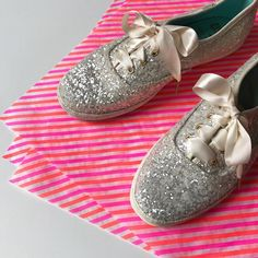 got these for the most dazzling bride i know. #kedsstyle