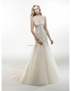 Maggie Sottero Romantische Traumhafte Brautkleider aus Organza mit Perlenstickerei