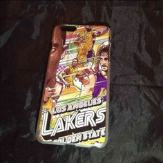 Selling this Los Angeles laker iPhone 6 Plus case in my Poshmark closet! My username is: mb222. #shopmycloset #poshmark #fashion #shopping #style #forsale #Accessories