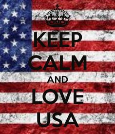 KEEP CALM AND LOVE USA #SC13