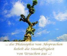… die #Philosophie von #Absprachen hebelt die #Sinnhaftigkeit von #Ursachen aus ! ( #Samara )