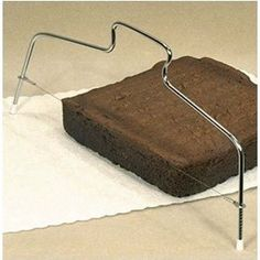 """Cake Slicer with Adjustable Wire, 12.5"""""""