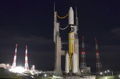 Japan has conducted its first dedicated commercial satellite launch Tuesday, with an H-IIA rocket carrying a Canadian communications spacecraft, Telstar 12V, into orbit. The launch departed Japan's Tanegashima Space Centre within a 104-minute launch window, with a T-0 of 15:50 local time (06:50 UTC) following a delay caused by a boat entering the range.